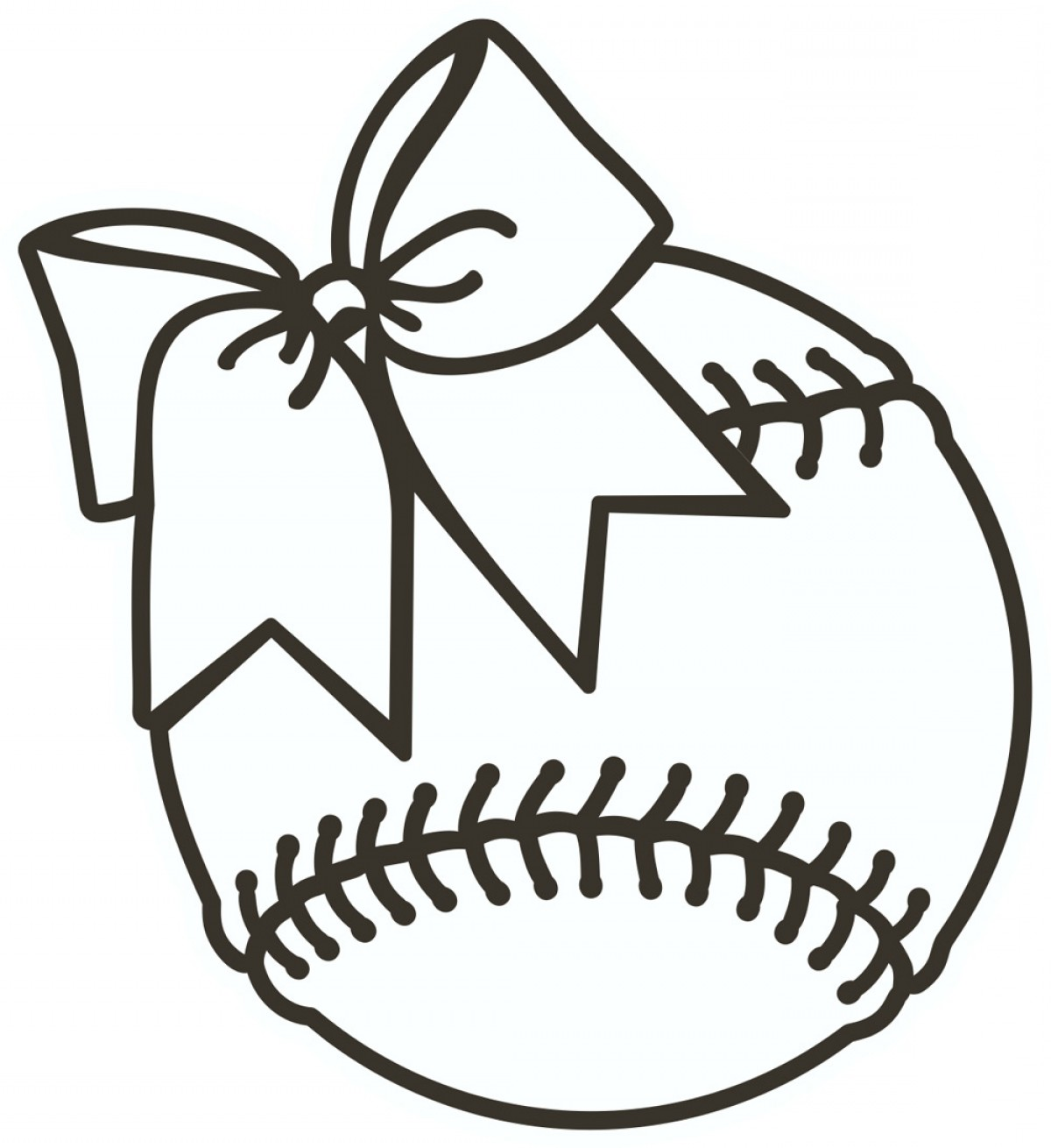hight resolution of softball clipart vector transparent download