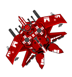 spaceship clipart red big image png clip art library [ 1697 x 2400 Pixel ]