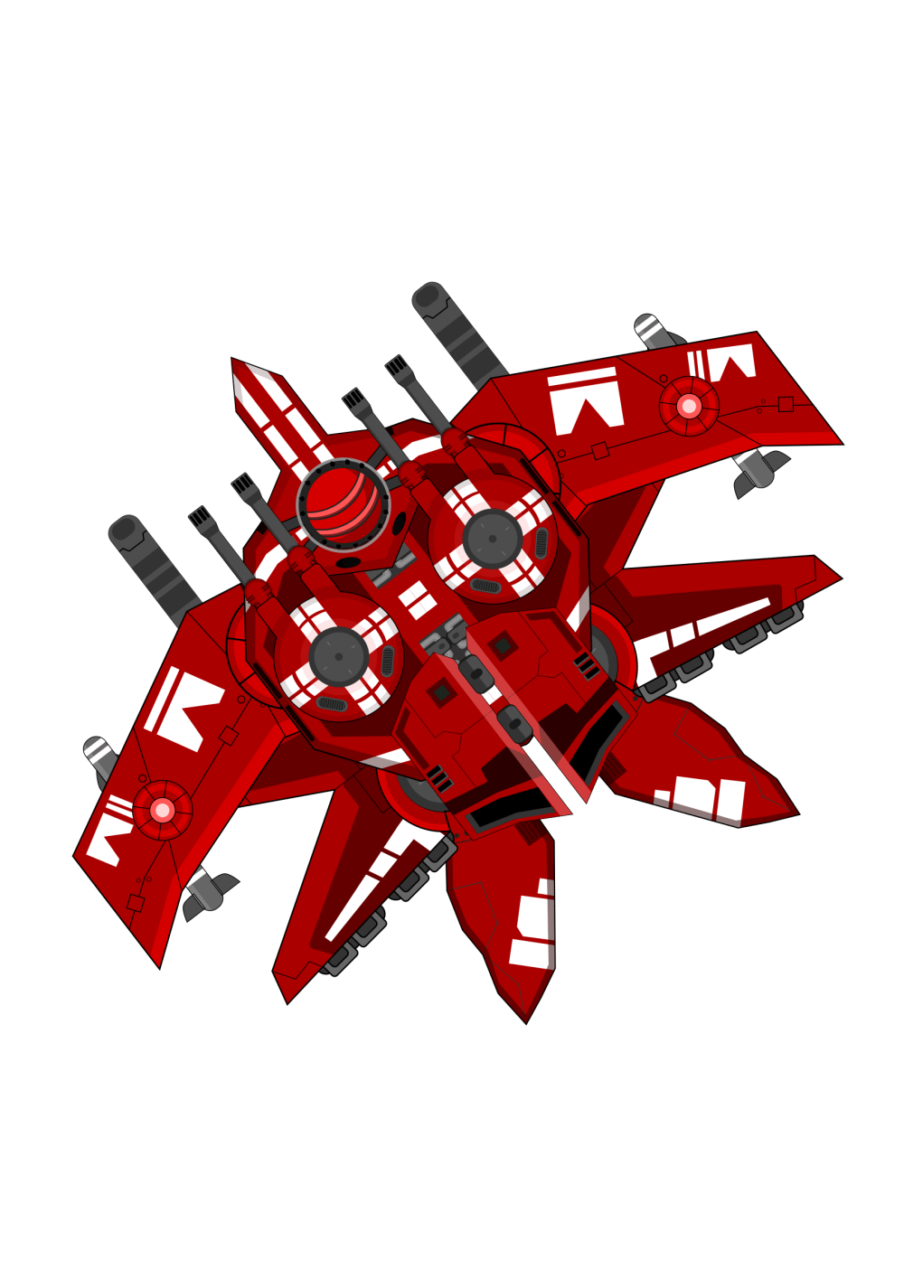 medium resolution of spaceship clipart red big image png clip art library