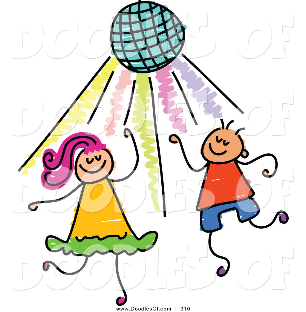 hight resolution of kids party panda free spring clipart dance banner black and white download
