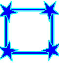 star clipart picture frame vector royalty free library [ 2400 x 2334 Pixel ]