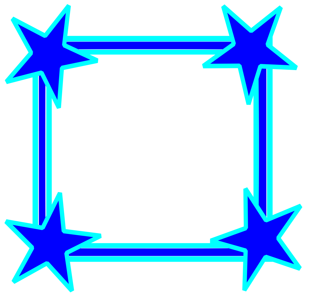 medium resolution of star clipart picture frame vector royalty free library
