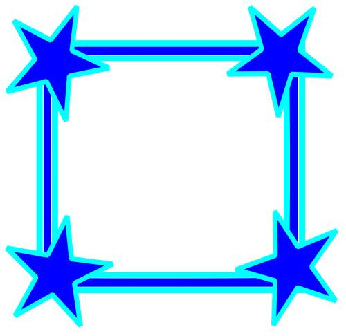small resolution of star clipart picture frame vector royalty free library