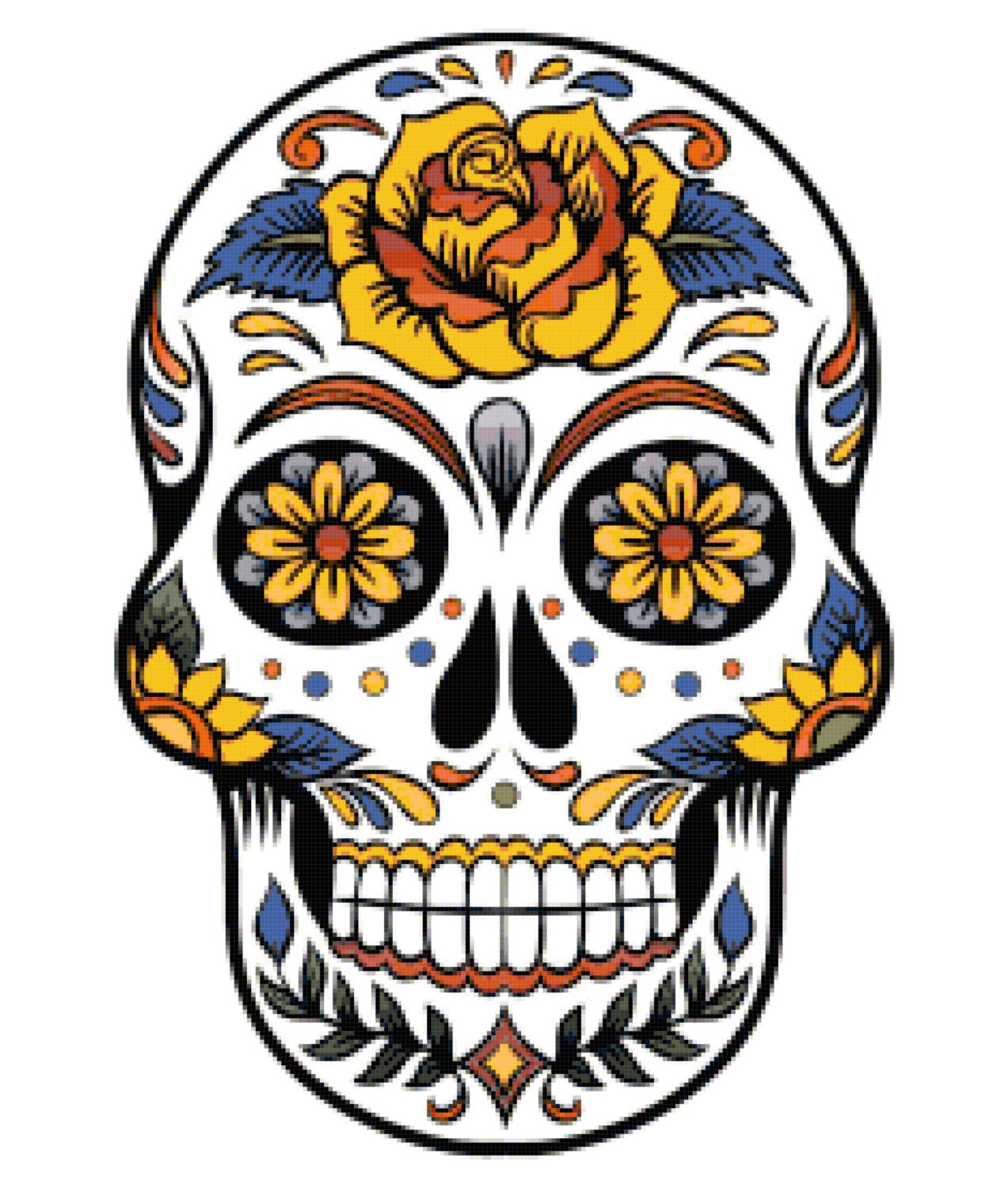 hight resolution of sugar clipart scull clip royalty free