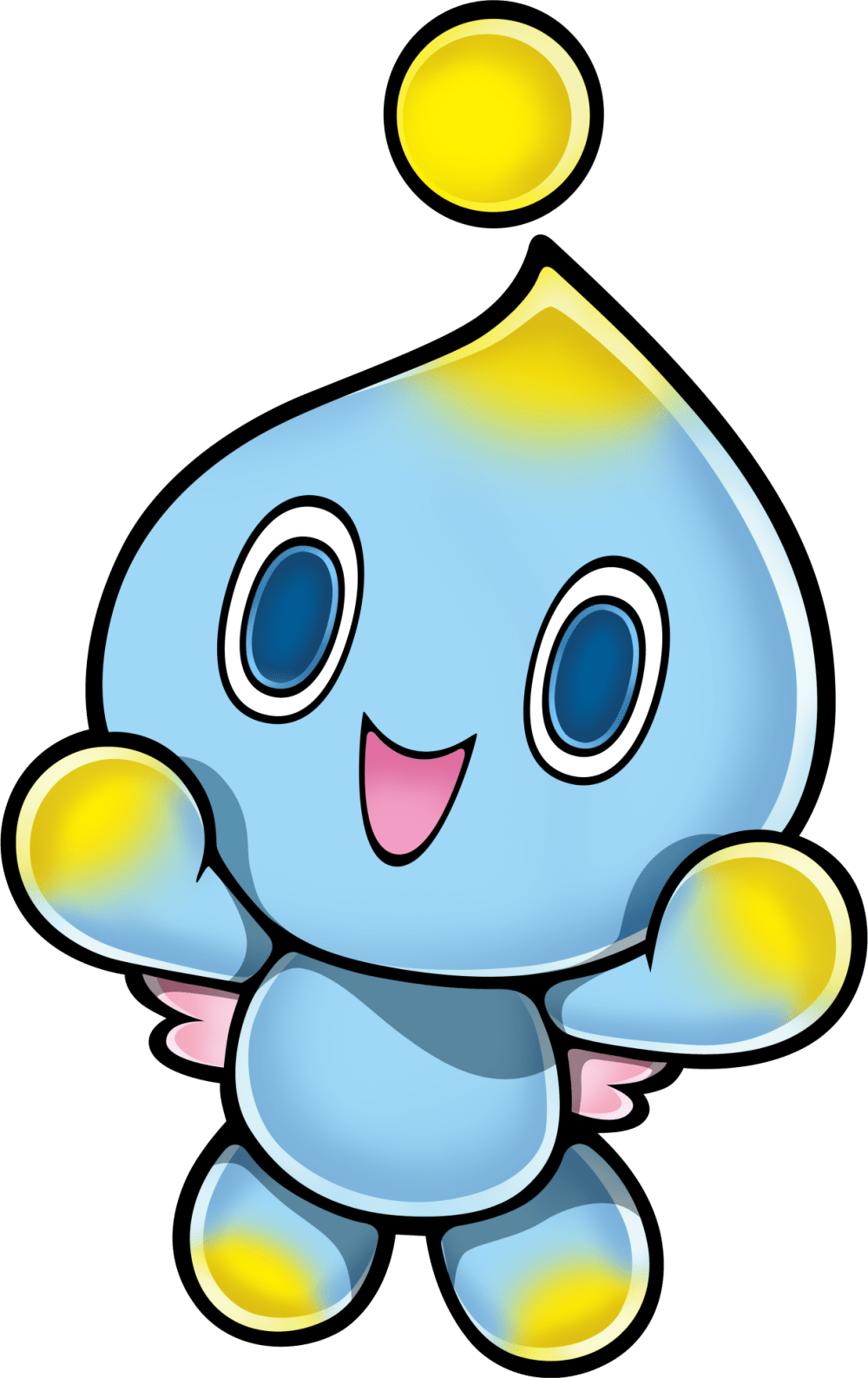 medium resolution of image png sonic news transparent chao translucent picture stock