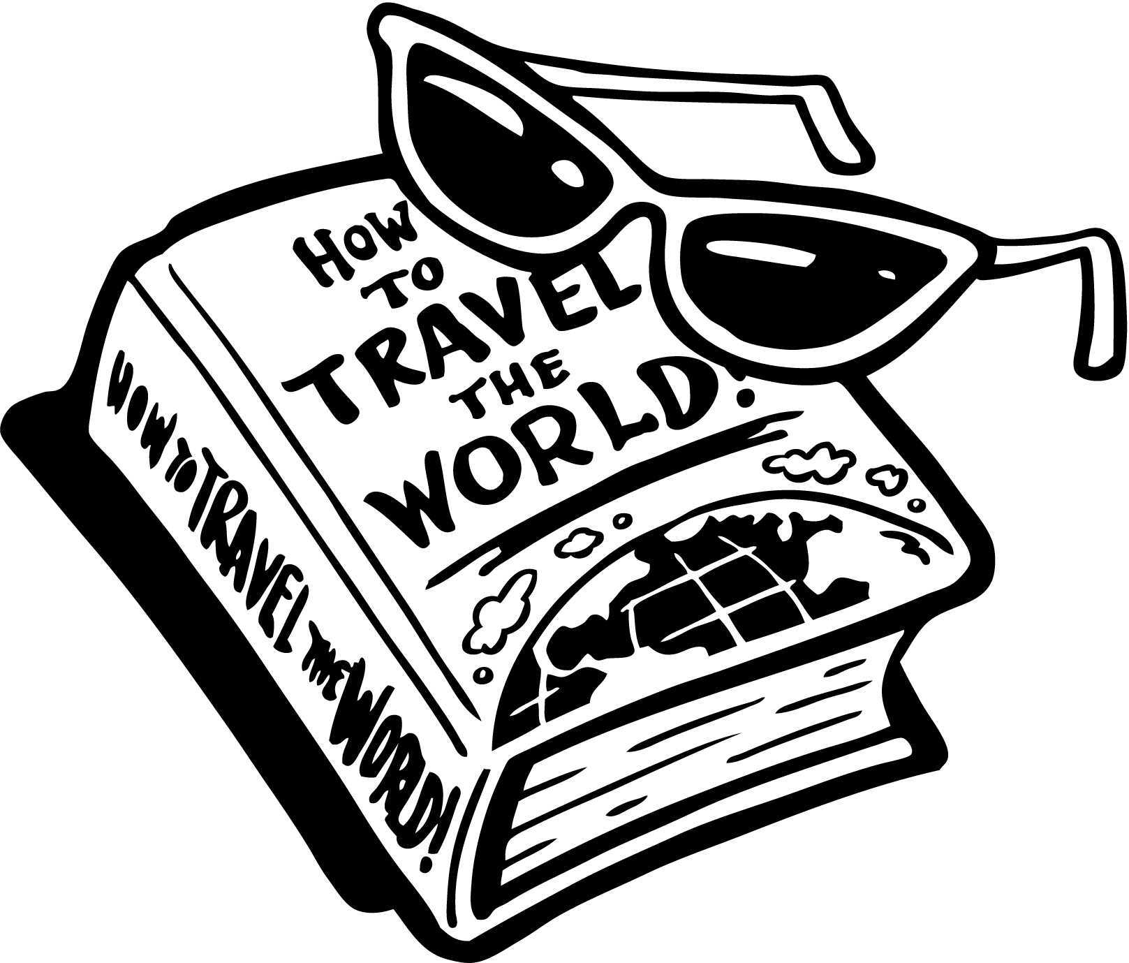 hight resolution of travel clipart travel guide clip art stock