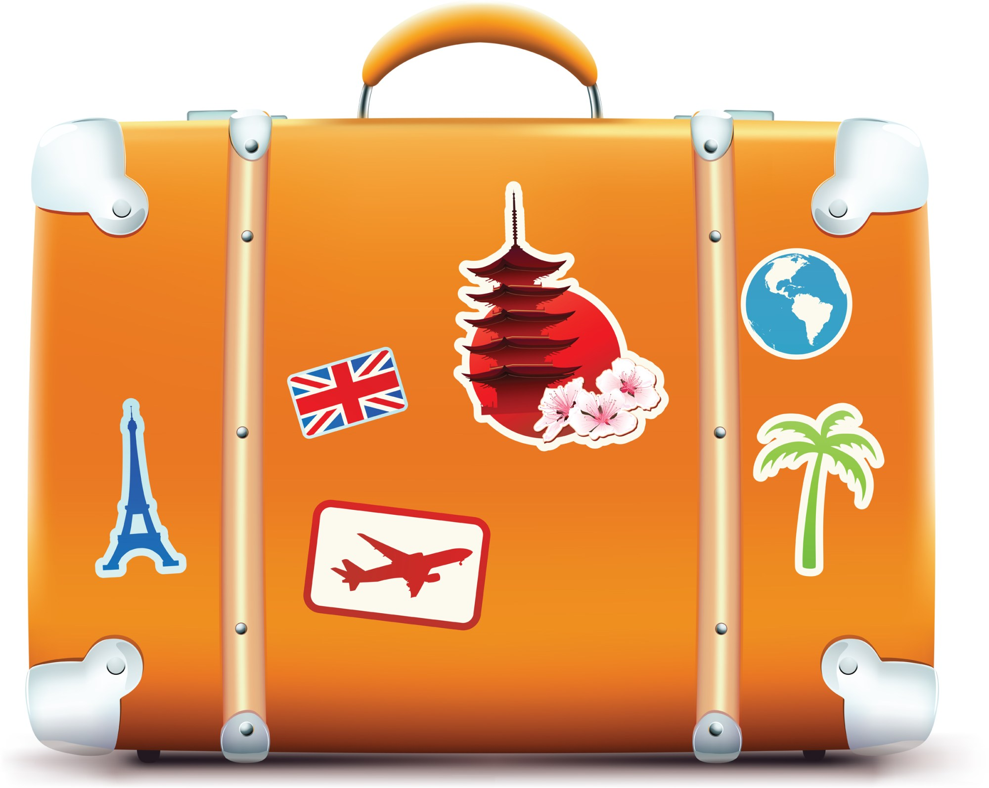 hight resolution of traveling clipart travel sticker paris suitcase banner royalty free