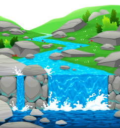 waterfall clipart falling water ground png gallery yopriceville clip royalty free [ 5000 x 3460 Pixel ]