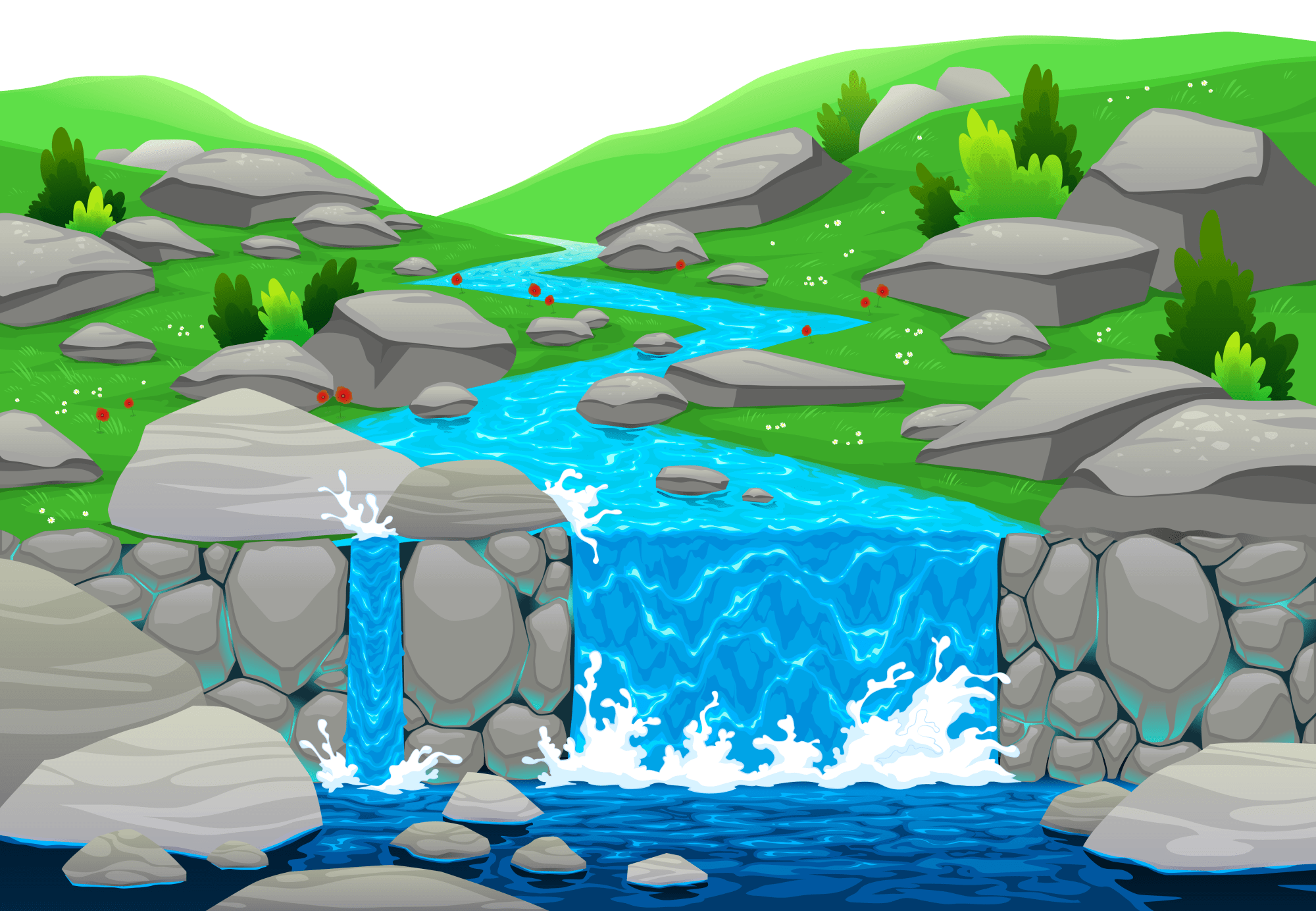 hight resolution of waterfall clipart falling water ground png gallery yopriceville clip royalty free