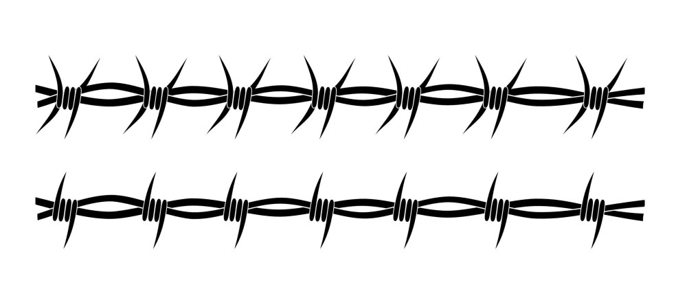 medium resolution of wild west clipart barbed wire barb fence clip art vector transparent