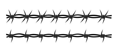 small resolution of wild west clipart barbed wire barb fence clip art vector transparent