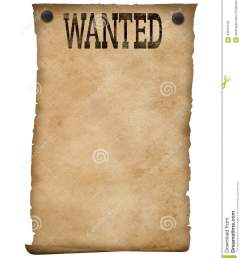 isolated background stock image wild west clipart wanted poster clip black and white download [ 1081 x 1300 Pixel ]