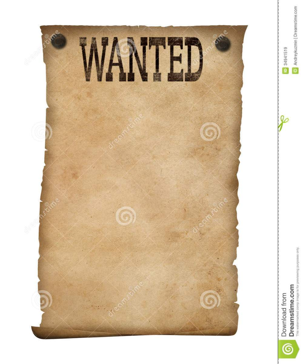 medium resolution of isolated background stock image wild west clipart wanted poster clip black and white download