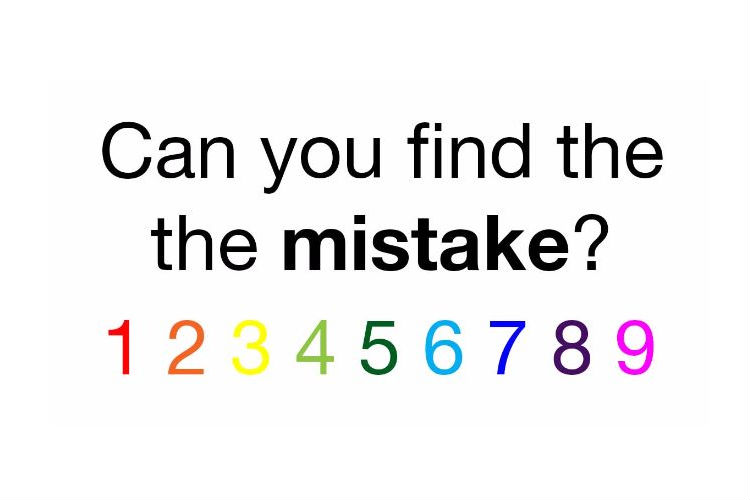There's A Major Mistake In This Puzzle. It's Very Obvious