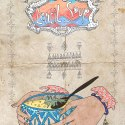 Shorabet Adas: Middle Eastern Lentil Soup Food Illustration & Recipe