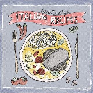 Illustrated Italian Recipes: Scrumptious Food Illustrations from Italy | Yaansoon Illustration + Art | Italian Food Illustration, Illustrated Recipes, Travel Illustration, Mediterranean Food Illustration, Italian Culture Illustration, Editorial Illustration, Italian Cuisine, Pen and Ink Illustration