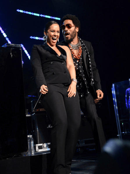 alicia keys lenny kravitz