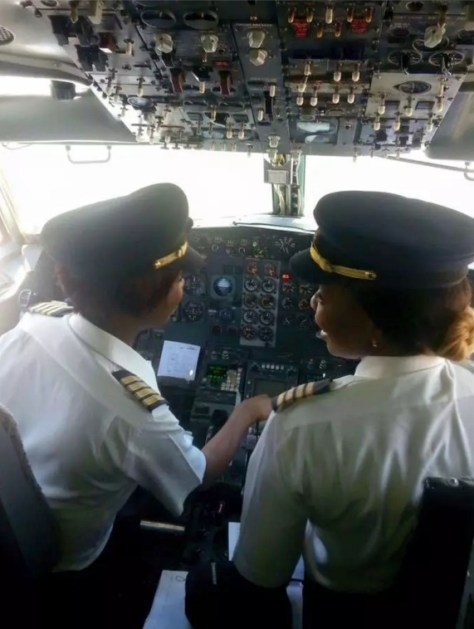 -First-All-Women-Flight-Deck-Crew Zimbabwe