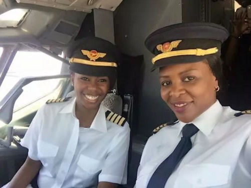 Zimbabwean All Female Flight Deck Crew Makes History!