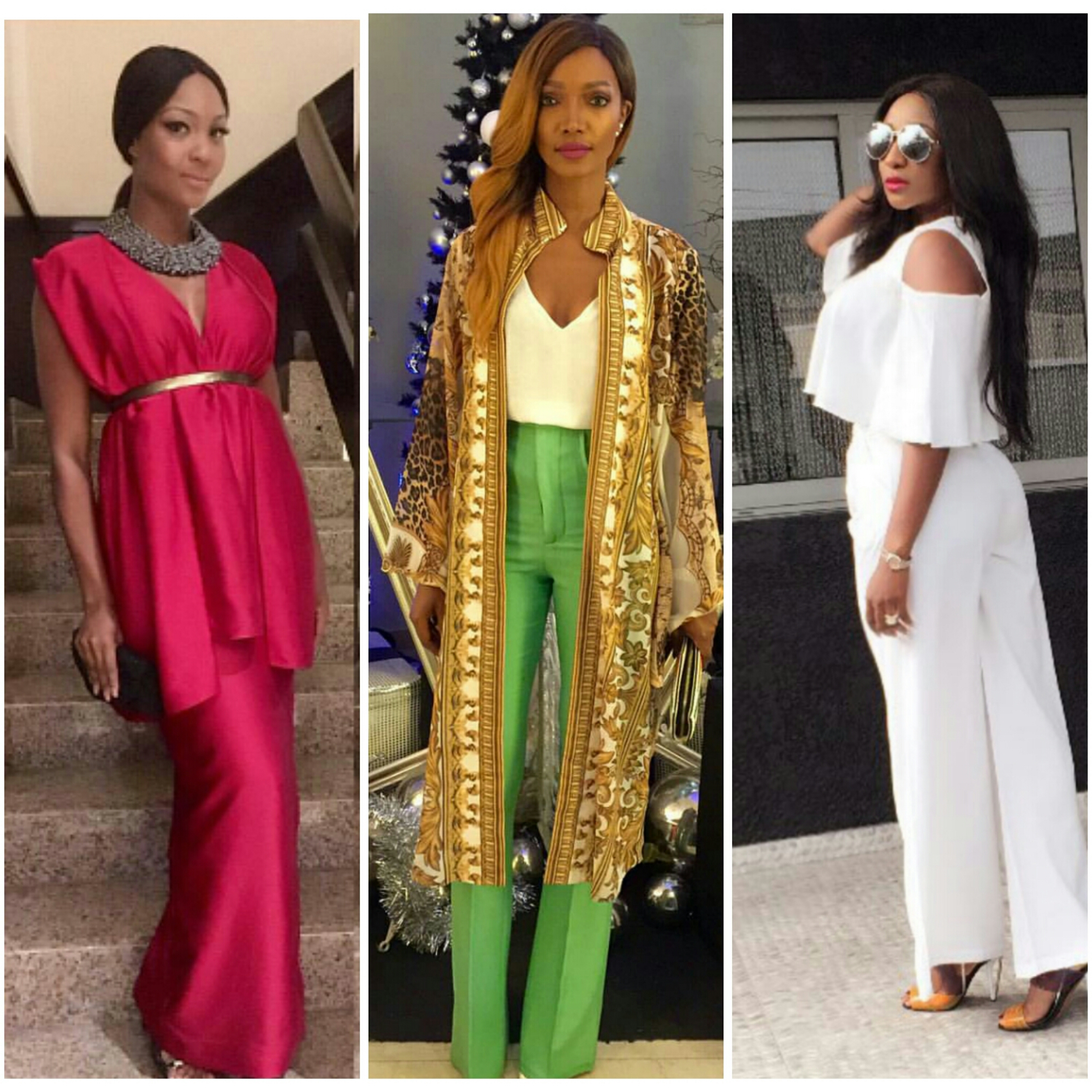 Top Celeb Looks Of The Day –  Ini Edo, Millen Magese  & More