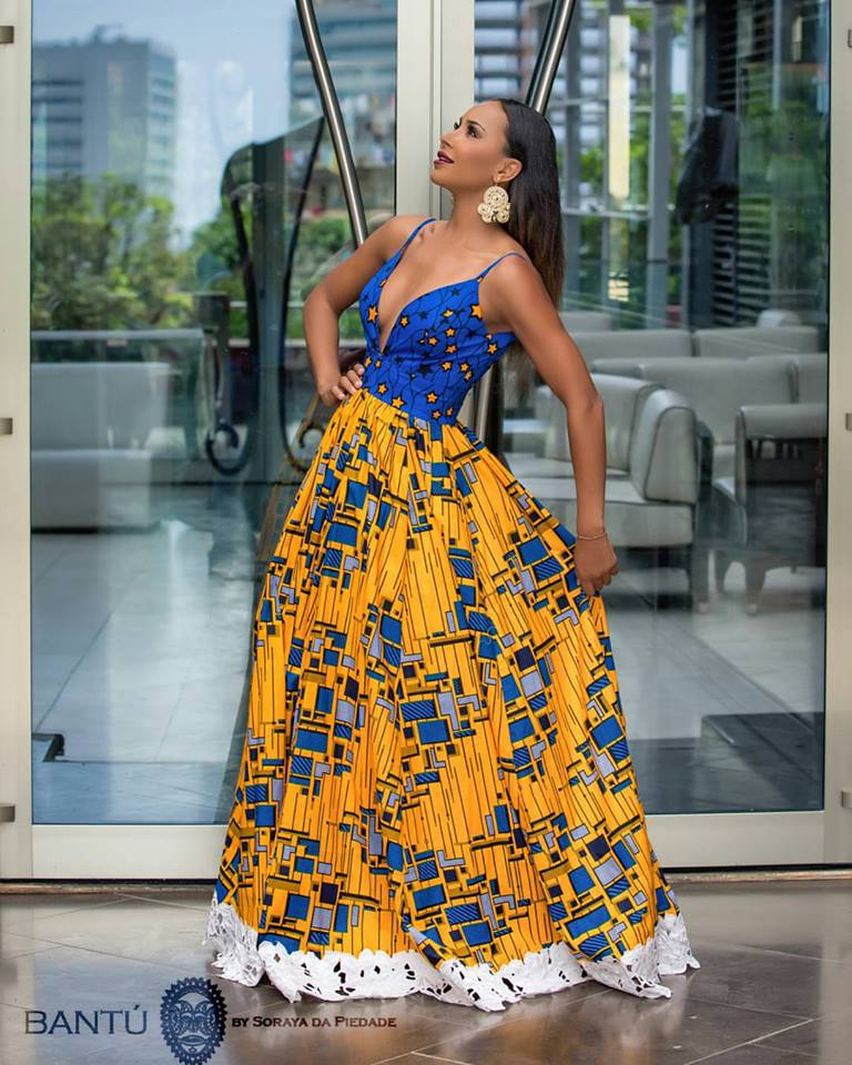 View Fab Pieces From Angolan Fashion Designer Soraya Da Piedade