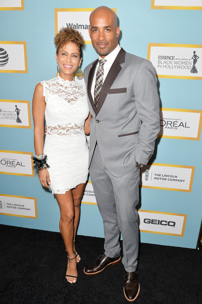 2016+ESSENCE+Black+Women+Hollywood+Awards+Nicole Ari Parker (L) and Boris Kodjoe
