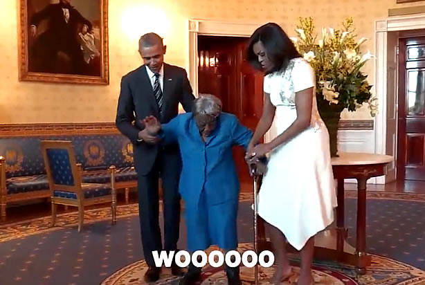 barack 106 year old