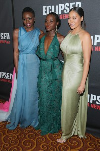 Lupita Nyong'o, LaLa Anthony, Akosua Busia & More At The 'Eclipsed' Opening Night After Party