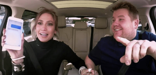 James Corden Sends A Risqué Text To Leonardo DiCaprio From Jennifer Lopez's Phone
