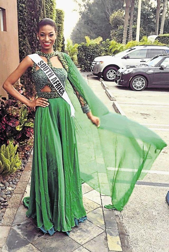 Miss SA 2014 Ziphozakhe Zokufa