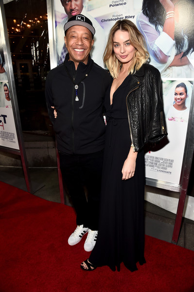 Russell Simmons & Lucy Mcintosh
