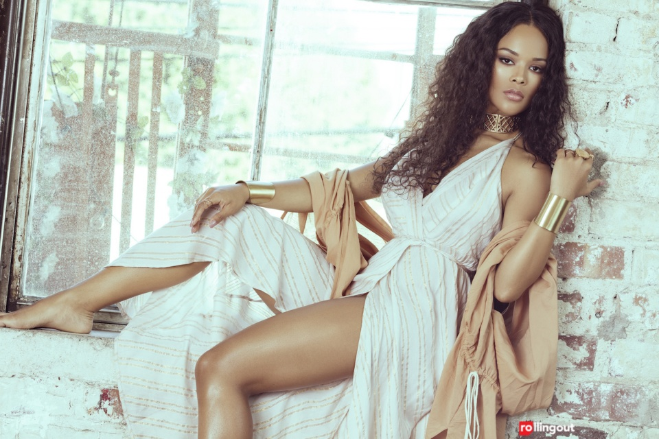 Empire Is Back! Check Out Serayah On The Cover Of Rolling Out Magazine's April Issue