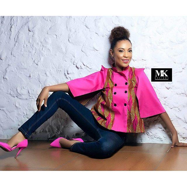 Ghanaian Star Nikki Samonas Is The New Face Of M&K Wear