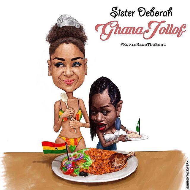 Jollof Wars! Sister Deborah Releases New Song – 'Ghana Jollof'