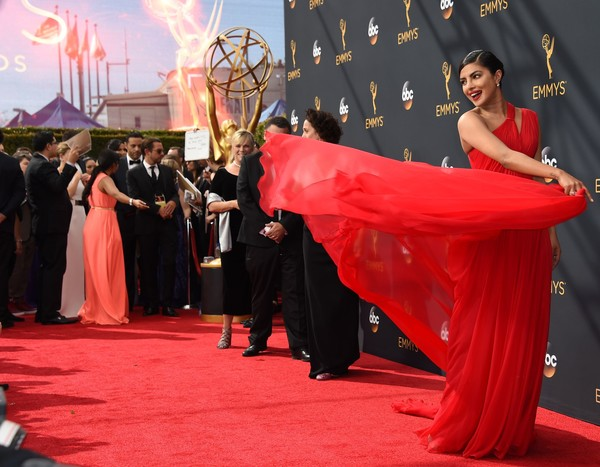 Fabulous Fashion Moments At The 68th Annual Primetime Emmy Awards.