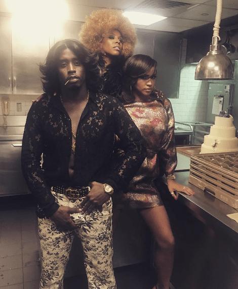 Cassie, Diddy & June Ambrose