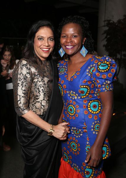 Director Mira Nair and Sarah katende