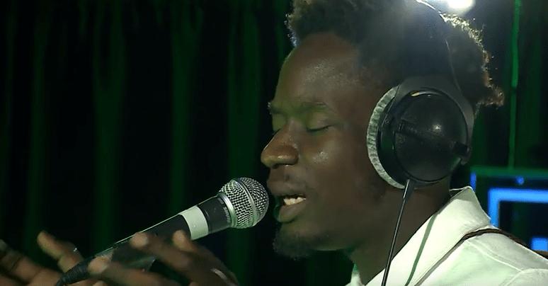 Watch Mr Eazi's Performance At BBC 1XTRA Live Lounge