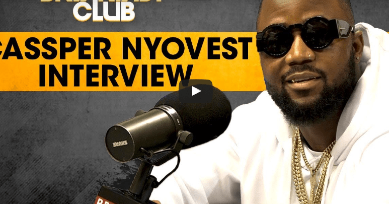 Cassper Nyovest Visits The Breakfast Club. He Talks Kanye West, Cheating On Boity & African Hip-hop