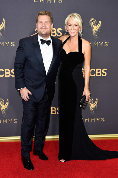 69th-Annual-Primetime-Emmy-Awards-James Corden Julia Carey