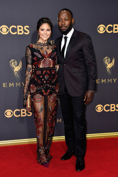 69th-Annual-Primetime-Emmy-Awards-TV personality Erin Lim-actor Lamorne Morris-emmys-2017