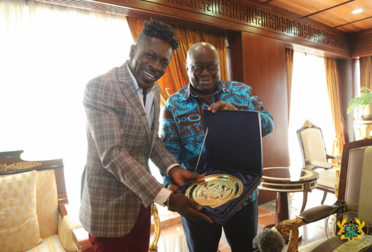 shatta-wale-president-nana-akufo-addo