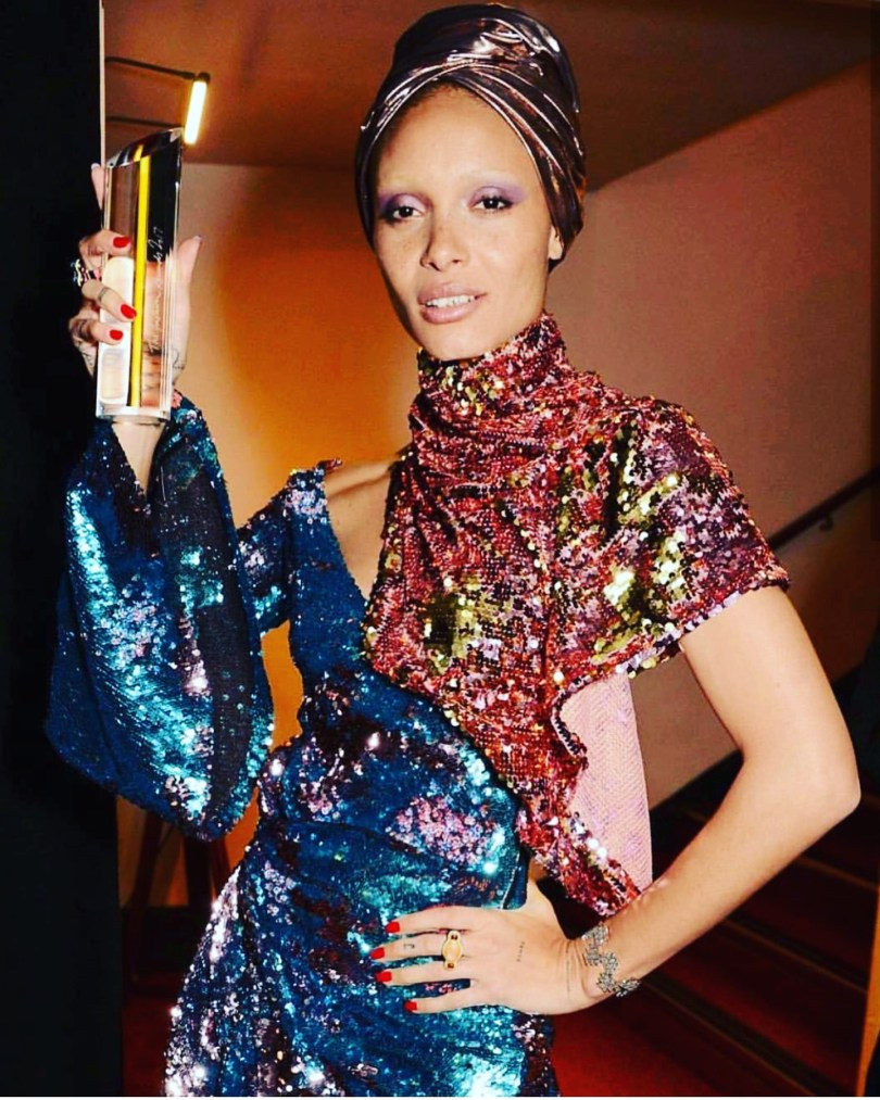 Adwoa-Aboah-british-fashion-awards-2017