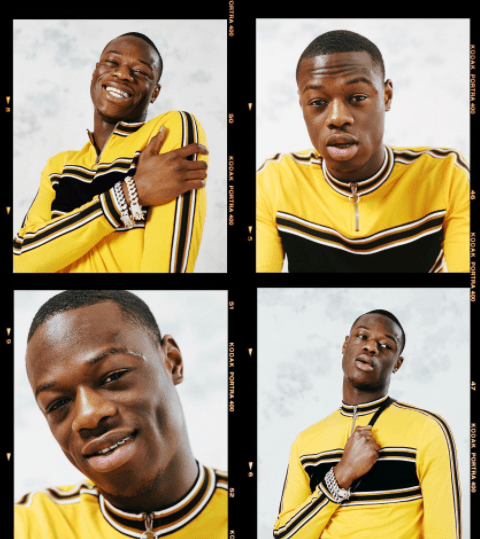 Hot Shots: J Hus For ASOS Magazine