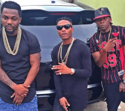 Wizkid with R2Bees