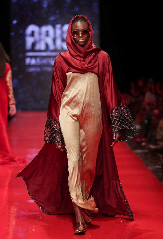 ARISE-Fashion-Week abaya lagos