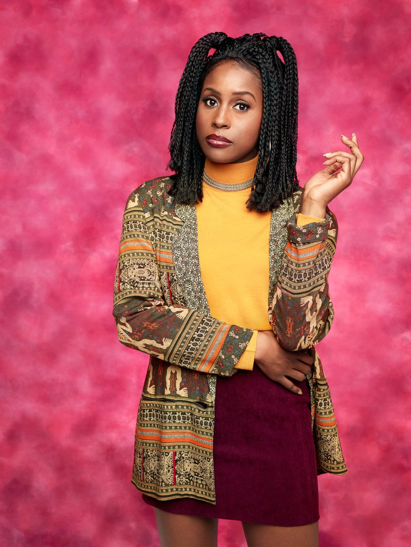Hot Shots: Issa Rae Dresses Up As 90's Sitcom Stars For GQ Magazine