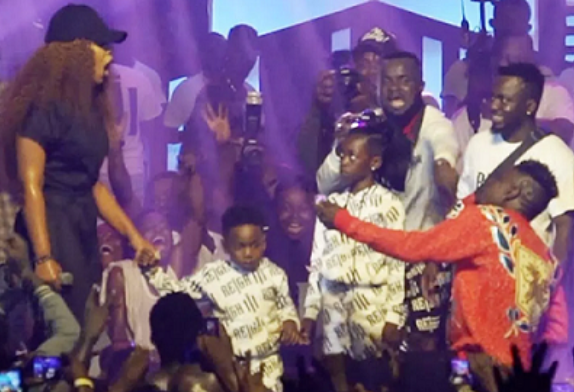Video: Shatta Wale Proposes To Shatta Michy