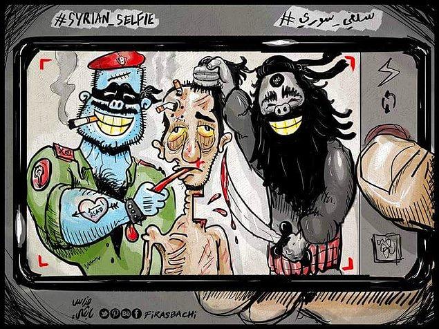 Karikatura: Firas Bachi