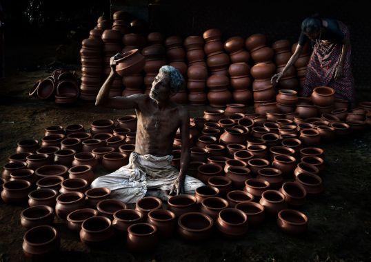 Qətərli fotoqraf Firos Syedin 'Rounded life' adlı çalışması.